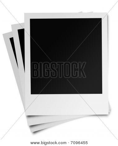 instant photo frame fan