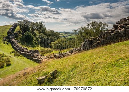 Roman Wall At Walltown