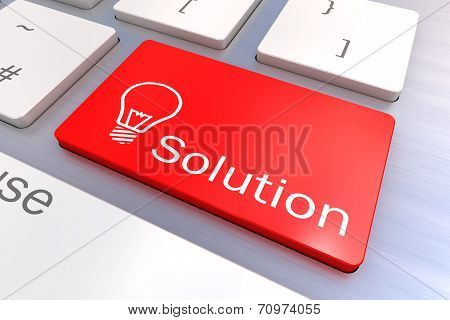Solution Keyboard Button
