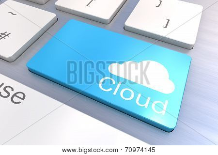Cloud Keyboard Button