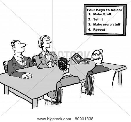 Keys to Sales