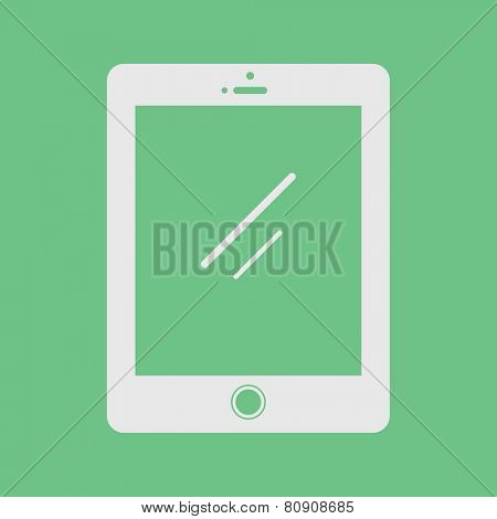 Digital Tablet Eletronics Device Technology Icon Vector Concept