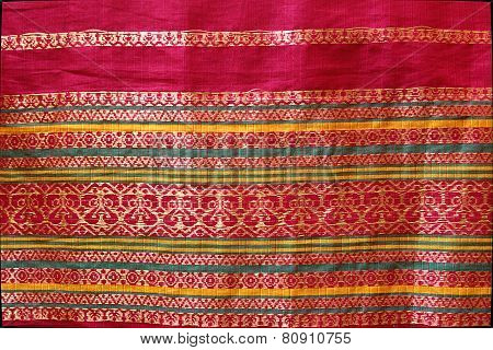 Border Design On Silk Sari