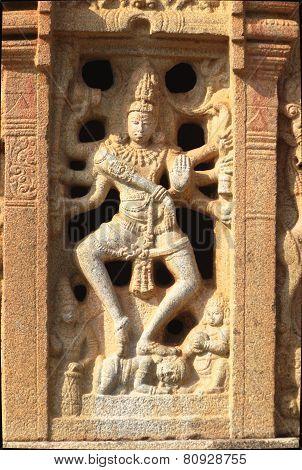 Plaque Of Dancing Nataraja
