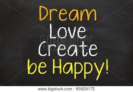 Dream and be Happy