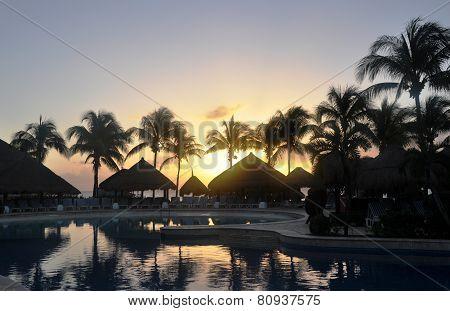 Tropical evening.