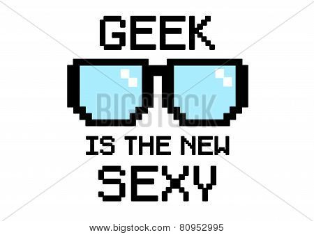 Geek Is sexy glasses