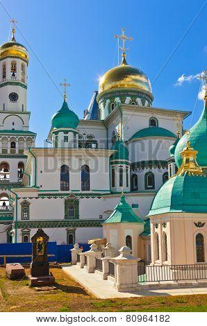 Famous New Jerusalem monastery - Istra Russia