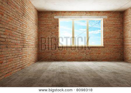 New Empty Room 3D