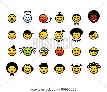 happy smileys face