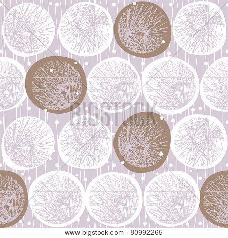 winter abstract seamless pattern from snowflake. eps8