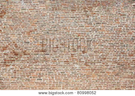 Background Of Old Vintage Colorful Big Brick Wall