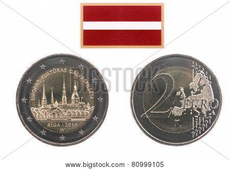 Commemorative Coin Of Latvia