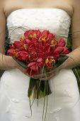 Bridal Bouquet Tulips
