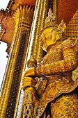 Thai Golden Demon Warrior in the Thailand poster