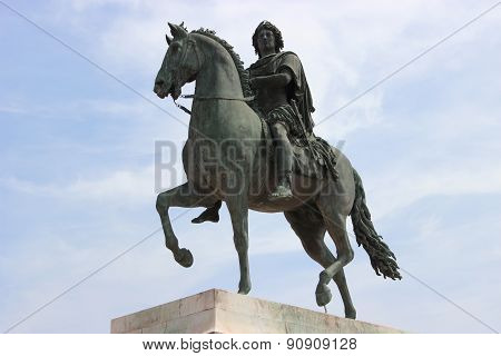 The Equestrian Statue Of King Louis Xiv