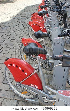 Bicycle Sharing System - Lyon France