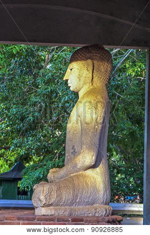 Samadhi Buddah Statue, Meditating Buddah, Beauty And Holiness