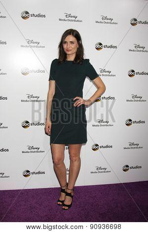 LOS ANGELES - MAY 17:  Karolina Wydra at the ABC International Upfronts 2015 at the Disney Studios on May 17, 2015 in Burbank, CA