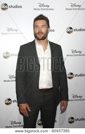 LOS ANGELES - MAY 17:  Charlie Weber at the ABC International Upfronts 2015 at the Disney Studios on May 17, 2015 in Burbank, CA
