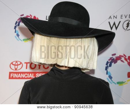 LOS ANGELES - MAY 16:  Sia at the