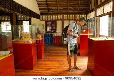 Agua Blanca Museum in Machalilla National Park, Ecuador