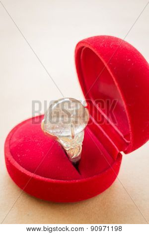 Rutile Guartz Classic Jewellery Ring