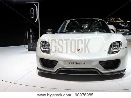 Concept car Porsche 918 Spyder
