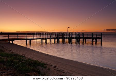 Shoalhaven River At Dawn