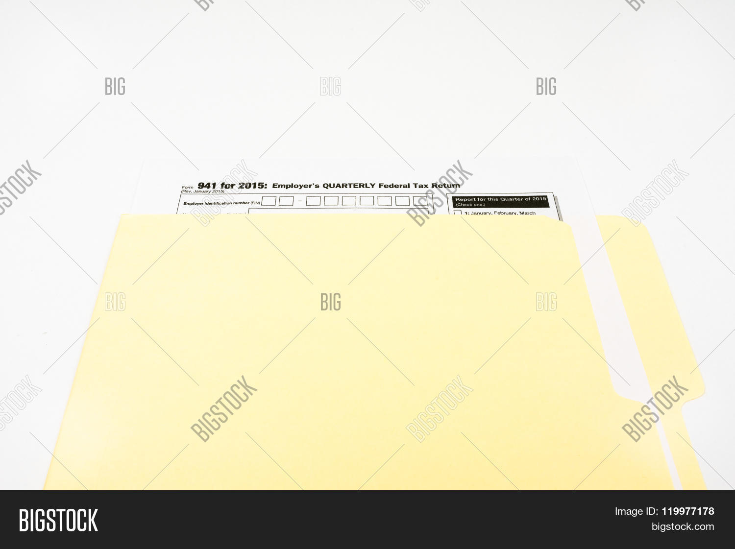 941 tax form  Tax Form 12 On White Image & Photo (Free Trial) | Bigstock