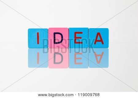 Idea - An Inscription From Children's Blocks