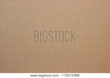 Corrugated Brown Cardboard. Background.