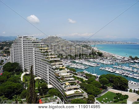 Wonderful Marina Baie Des Anges In France.
