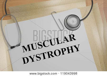 Muscular Dystrophy Concept