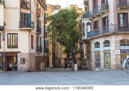 Barcelona district El Born/La Ribera