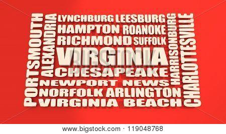 Virginia State Cities List