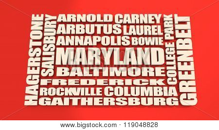 Maryland State Cities List