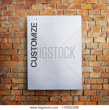 Customize Paperwork Custom Design Concept