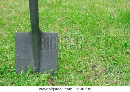 Spade In The Ground