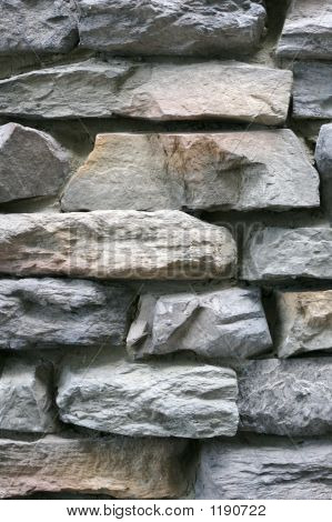 Stone Wall Background Close Up