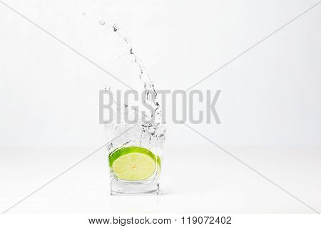 Lime In The Glass