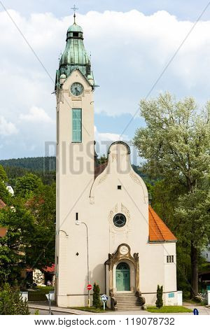 The Church of the exaltation of the Holy Cross, Jablonec nad Nisou, Czech Republic