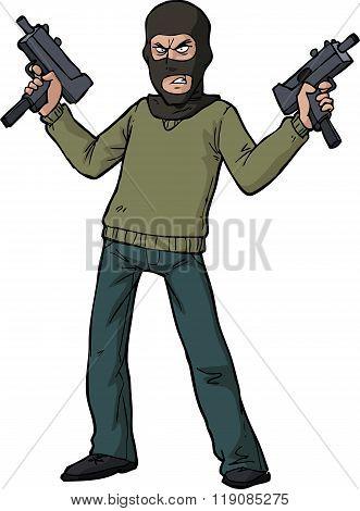 Gunman Submachine Gun