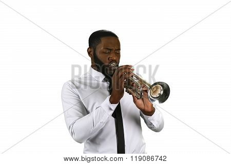 Professional trumpet player.