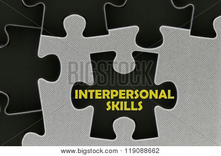The White Jigsaw Puzzle Written Word Interpersonal Skills