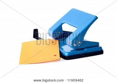 Blue Hole Puncher And Paper