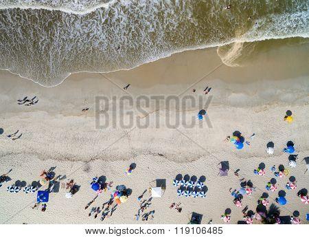 Top View of Bahia Beach, Brazil