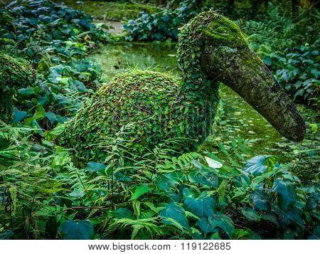 Sculpture in Terra Nostra Garden