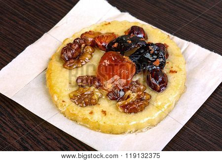 Pastry With Nuts And Berries