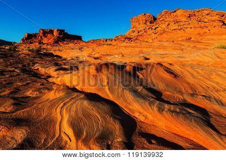 Little Finland near Mesquite, Nevada,USA